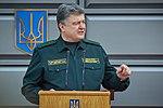 Президент України Петро Порошенко привітав молодих офіцерів з випуском 294 (16759522839).jpg