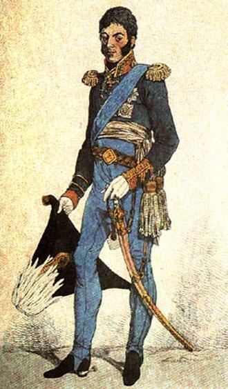 Pyotr Bagration - Bagration by D. Dayton, 1814
