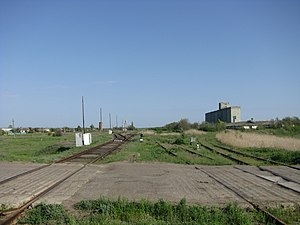 Tsimlyansky District - Grain elevators in Tsimlyansky District