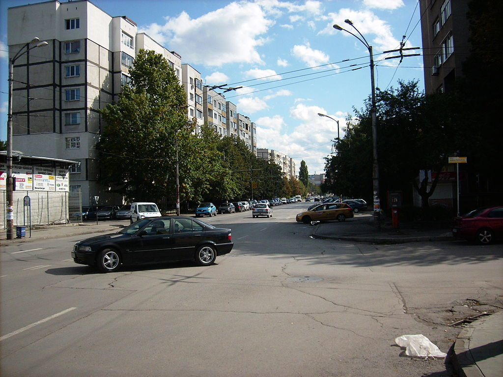 """Улица """"Макгахан"""" в София"""