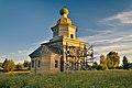 Церковь Михаила Архангела в д.Архангело вечером.jpg
