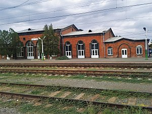 Armavir, Armenia - Armavir railway station