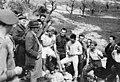 ביקור משה שרת את חיילי הבריגדה באיטליה 1945 - iלהביi btm8598.jpeg