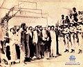 آیت الله آقا میر احمد تقوی در کنار آیت الله مهدوی کنی در دهدشت سال 1359.jpg