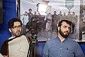تیم خبری رسانه یک همایش در قصر شیرین برای مناطق زلزله زده کرمانشاه ء Media Of Iran-Kermanshah-Qasr Shirin 02.jpg