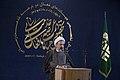 سخنرانی علیرضا پناهیان در جمع هیئت های مذهبی در قصر شیرین به مناسبت بیست و دوم بهمن ماه Alireza Panahian 22.jpg