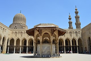 Mosque of Sultan al-Muayyad mosque in Egypt
