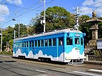 阪堺電車モ161形164号「水色雲塗装」.jpg