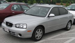 2001-2003 Hyundai Elantra sedan (US)