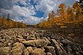 0150 - Nordkorea 2015 - Sinhuangsan - Fluss aus Stein (22778084140).jpg