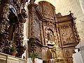 06a Olmos Peñafiel iglesia Santa Engracia retablo Ni.JPG
