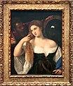 0 Portrait d'une femme à sa toilette - Titien - Louvre (INV 755) - (1).JPG
