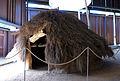 109 Parc arqueològic de les Mines de Gavà, model de cabana neolítica.JPG