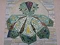 1120 Sagedergasse Rothenburgstraße Stg 6 - Mosaiksupraporte Kastanie von Hermann Kosel 1954 IMG 7157.jpg