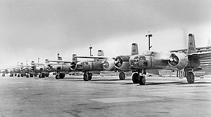 62d Fighter Wing - 115th Bombardment Squadron (Light) Douglas B-26 Invaders, Van Nuys Airport, California, 1948