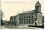 13142-Freiberg-1911-Blick vom Kornhaus nach der Post-Brück & Sohn Kunstverlag.jpg
