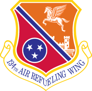 McGhee Tyson Air National Guard Base - Image: 134th Air Refueling Wing