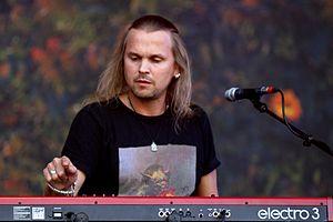 Joakim Svalberg - Image: 14 06 08 Ri P Opeth Joakim Svalberg