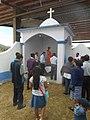 14 San Juan visitando una capilla posa en el atrio de San Juan Achiutla.jpg