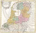 1748 Homann Heirs Map of Holland (Netherlands) - Geographicus - BelgiumFoederatum-homannheirs-1748.jpg