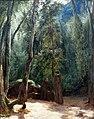 1830 Blechen Zwei Mönche im Park von Terni anagoria.JPG