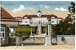 18388-Bad Gottleuba-1914-Haupteingang zum Genesungsheim-Brück & Sohn Kunstverlag.jpg
