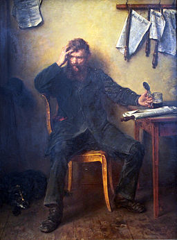 1877 Knaus Unzufrieden anagoria