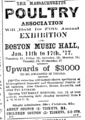 1877 poultry MusicHall BostonEveningTranscript January13.png