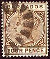 1882ca 4d Barbados Yv44 SG99.jpg