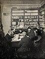 1897-12-04, Blanco y Negro, Segismundo Moret en su casa dictando a los taquígrafos la Constitución autónomica, Franzen.jpg