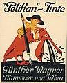 1909 circa Siegmund von Suchodolski Plakat Pelikan-Tinte Günther Wagner.jpg