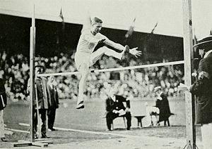 Athletics at the 1912 Summer Olympics – Men's standing high jump - Image: 1912 Platt Adams 5
