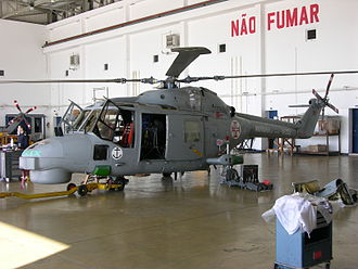 Portuguese Naval Aviation - Image: 19202 Westland Lynx Mk. 95 Portuguese Navy at its home base of Montijo