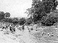 1920 - Swimmers In Jordan Creek - Allentown PA.jpg