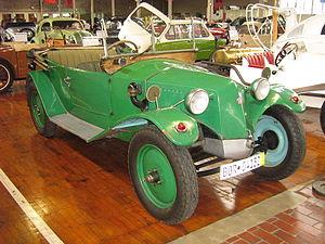 Tatra 11 - Image: 1923Tatra T 11