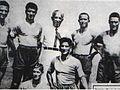 1937 nuovi acquisti del Napoli Calcio , con Achille Lauro ( Presidente ).jpg