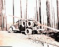 1941. Empty log truck. Vanderjack logging area. Tillamook Burn, Oregon. (34980188786).jpg
