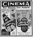1941 - The Cinema Theater Ad - 8 Oct MC - Allentown PA.jpg