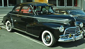 Chevrolet Stylemaster - Image: 1946 Chevrolet Stylemaster Coupe (12400606644)