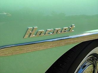 Hudson Hornet - Hornet nameplate