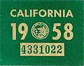 1958 California license plate decal.jpg