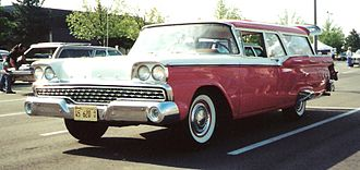 Ford Ranch Wagon - 1959 Ford 2-door Ranch Wagon