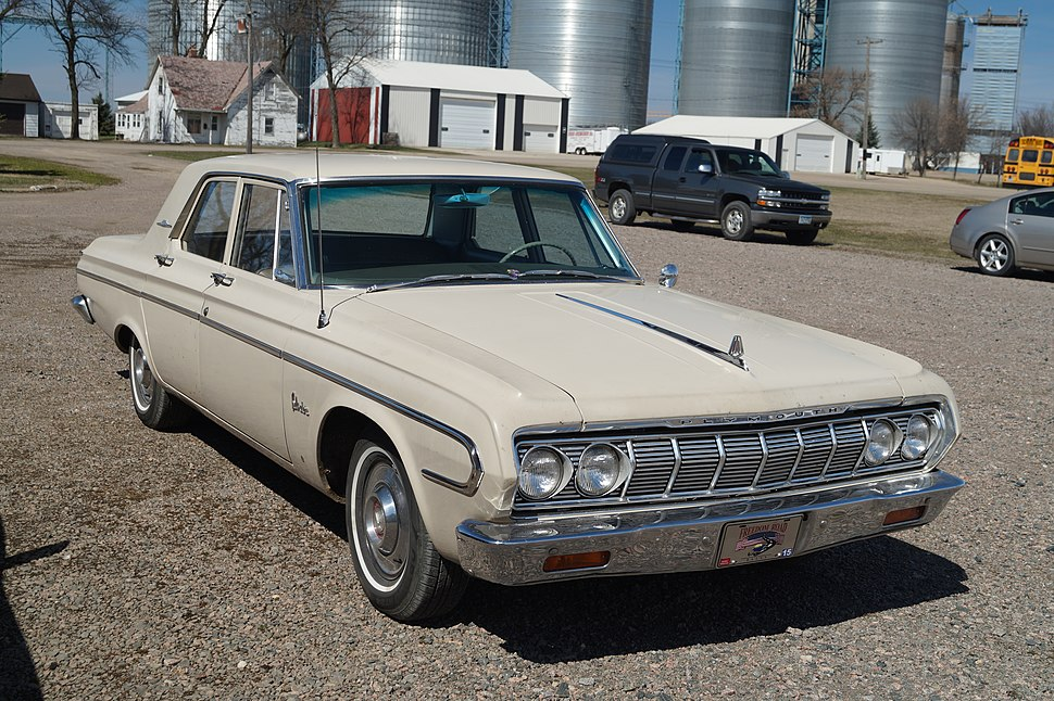 Plymouth Belvedere - Howling Pixel