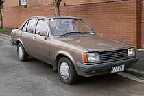 1984 Holden Gemini (TG) SL sedan (2015-07-15) 01.jpg