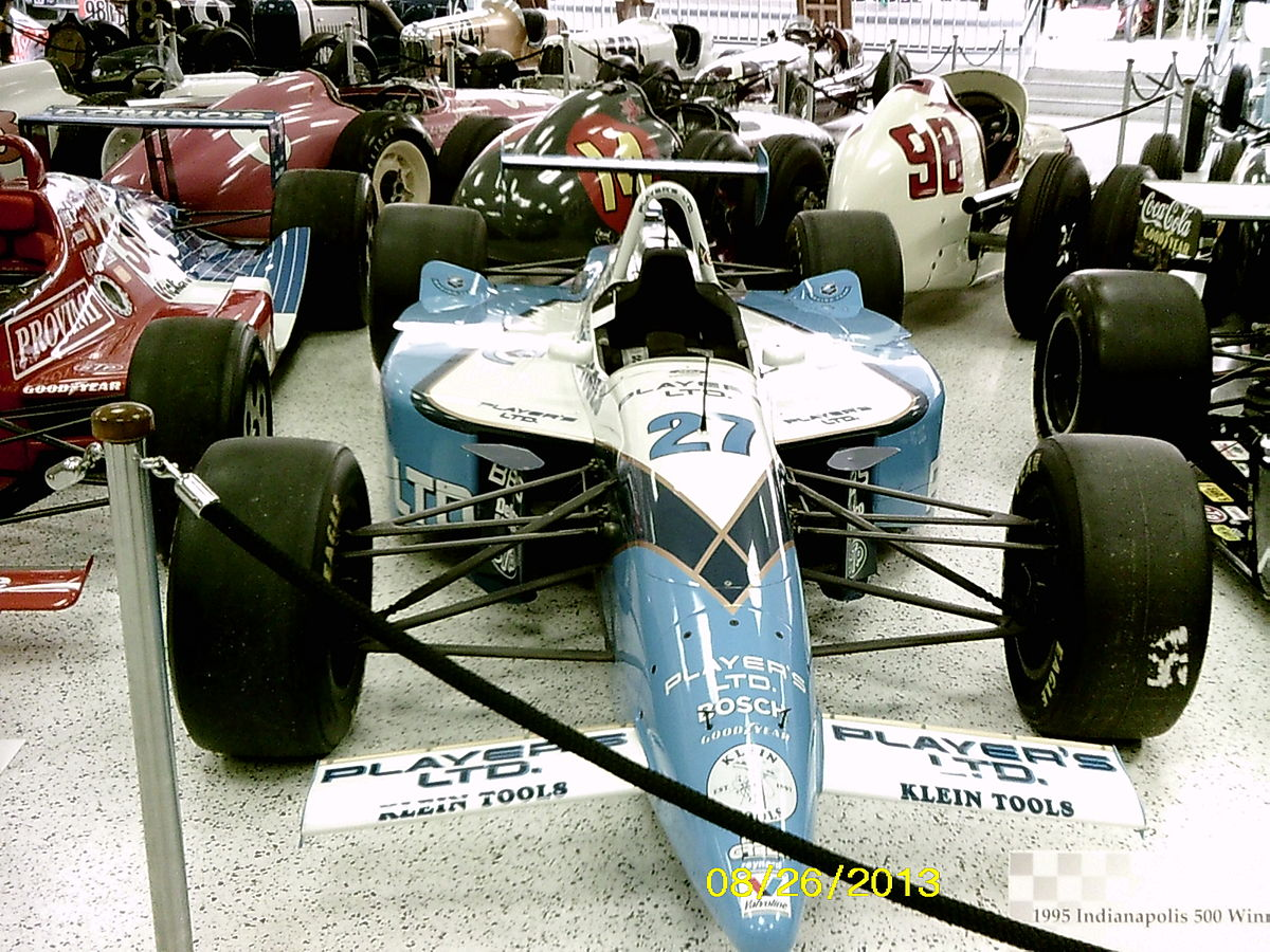 Crash Of Cars >> 1995 Indianapolis 500 - Wikipedia