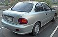 1997 Hyundai Excel (X3) Sprint 3-door hatchback (2009-06-28).jpg