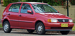 1997 Volkswagen Polo (6N) 5-door hatchback (2010-09-23).jpg