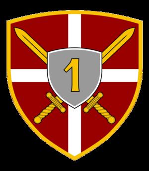 1st Land Force Brigade - Image: 1 Brigada KOV