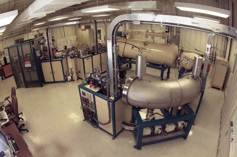 1 MV accelerator mass spectrometer
