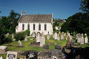Christ Church, Russell - Image: 2001 01 Russell